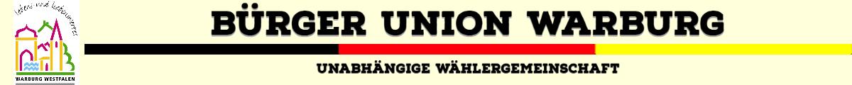Bürgerunion Warburg und das Warburger Land Logo