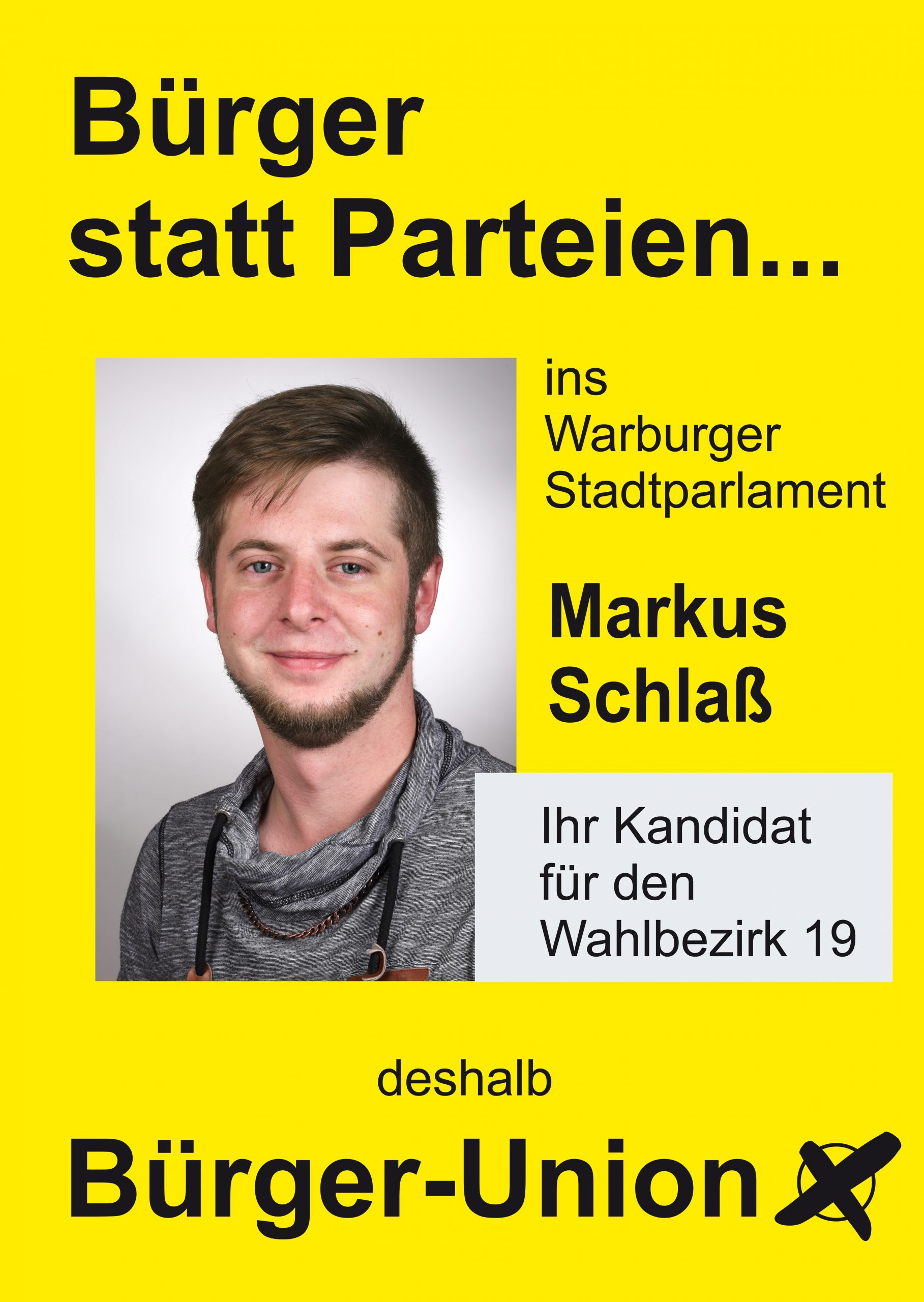 Markus Schlaß für Warburg Wahlbezirk 19