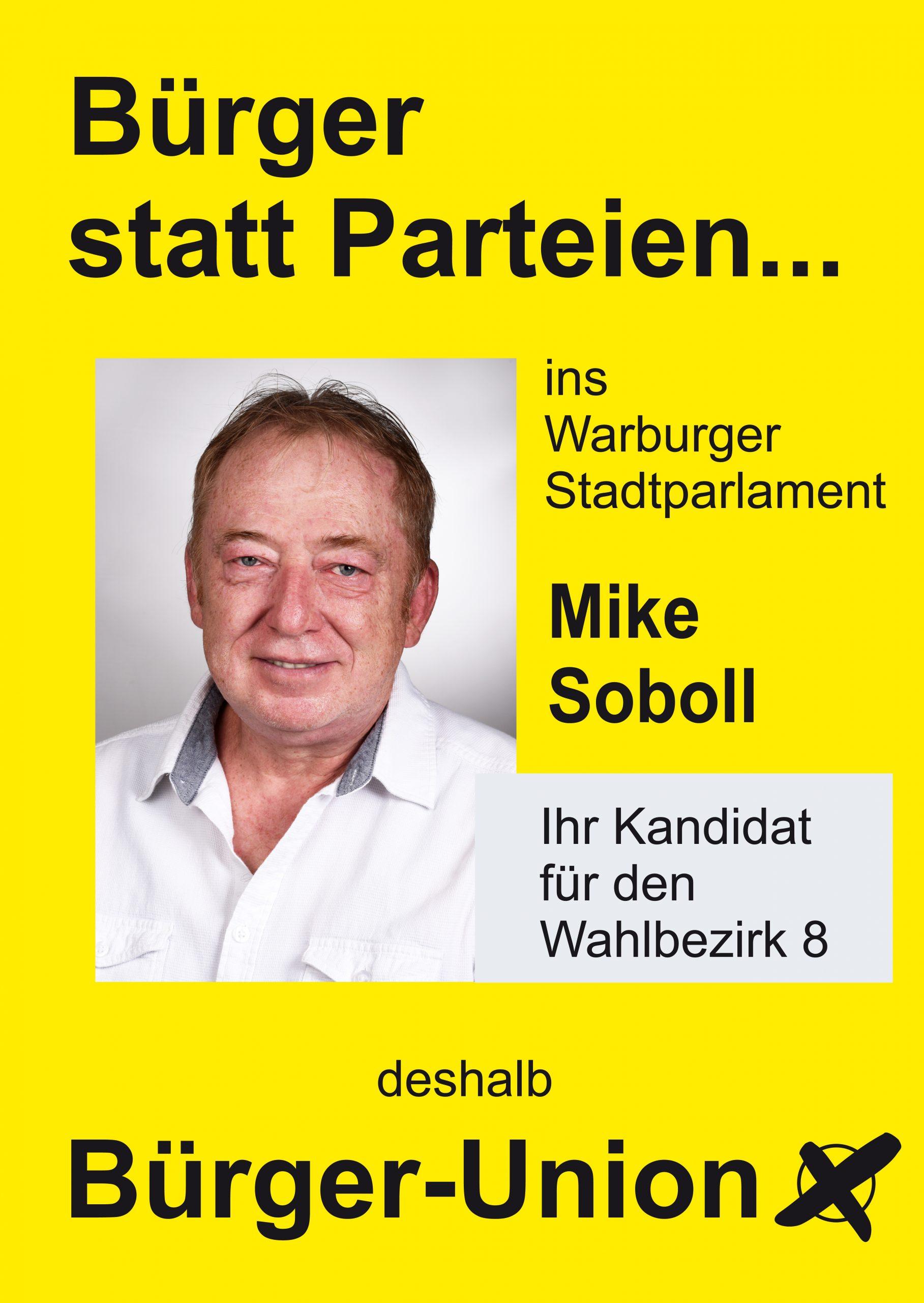 Mike Soboll für Warburg Wahlbezirk 8