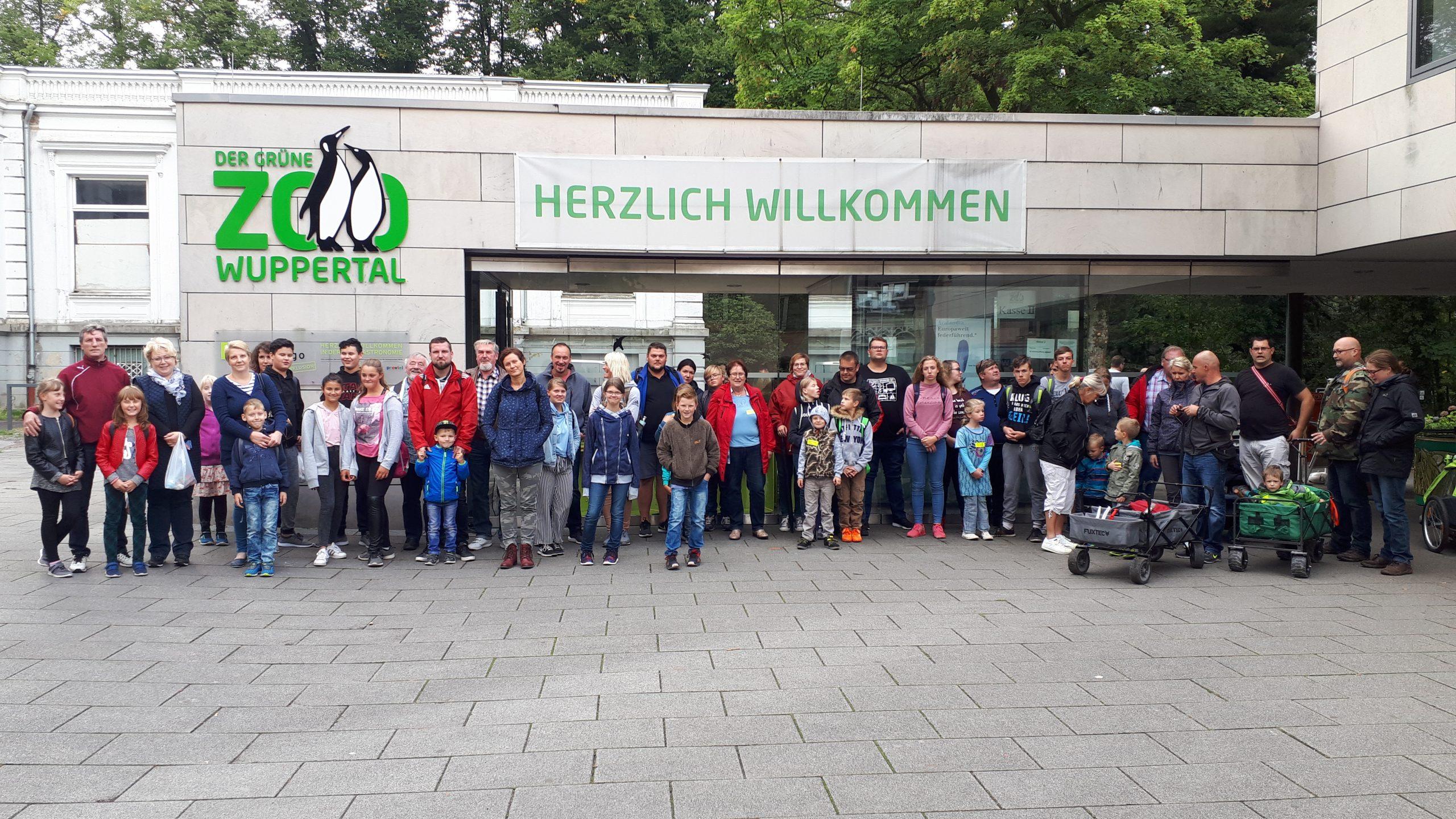 Zoobesuch Wuppertaler Zoo
