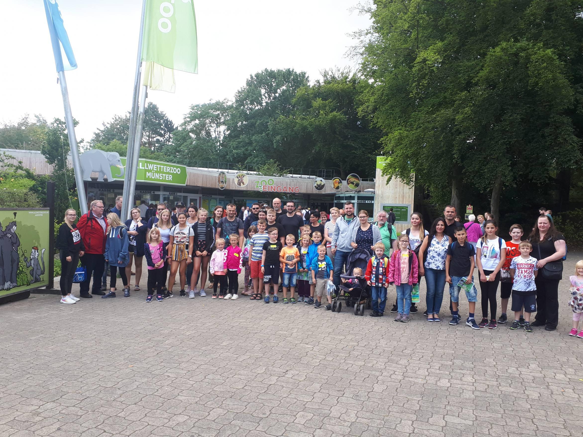 Kinderferienprogramm 2019 Zoo Münster