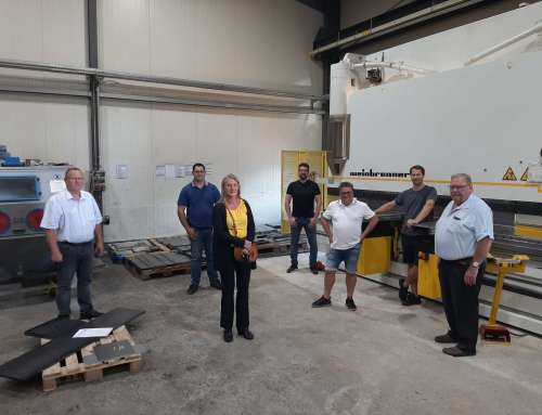 Bürger-Union Warburg zu Gast bei der WIB GmbH