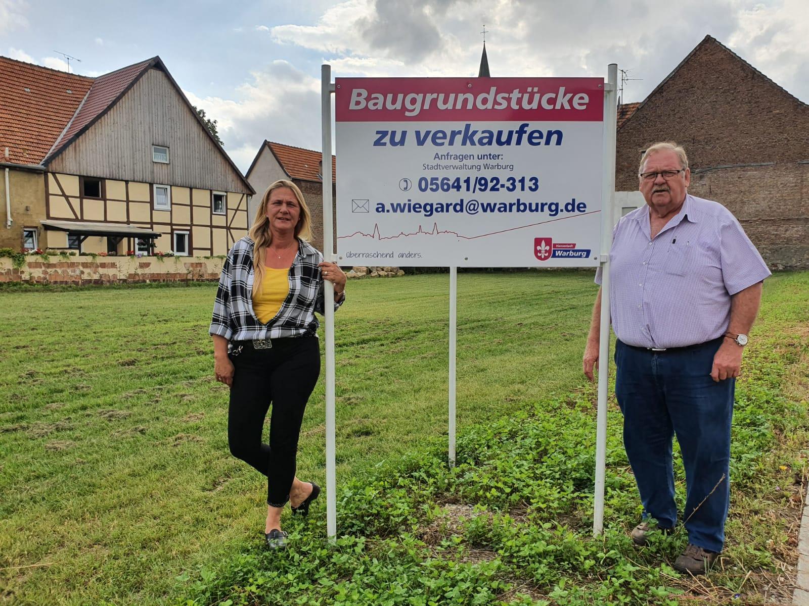 Neue Baugrundstücke in Dössel