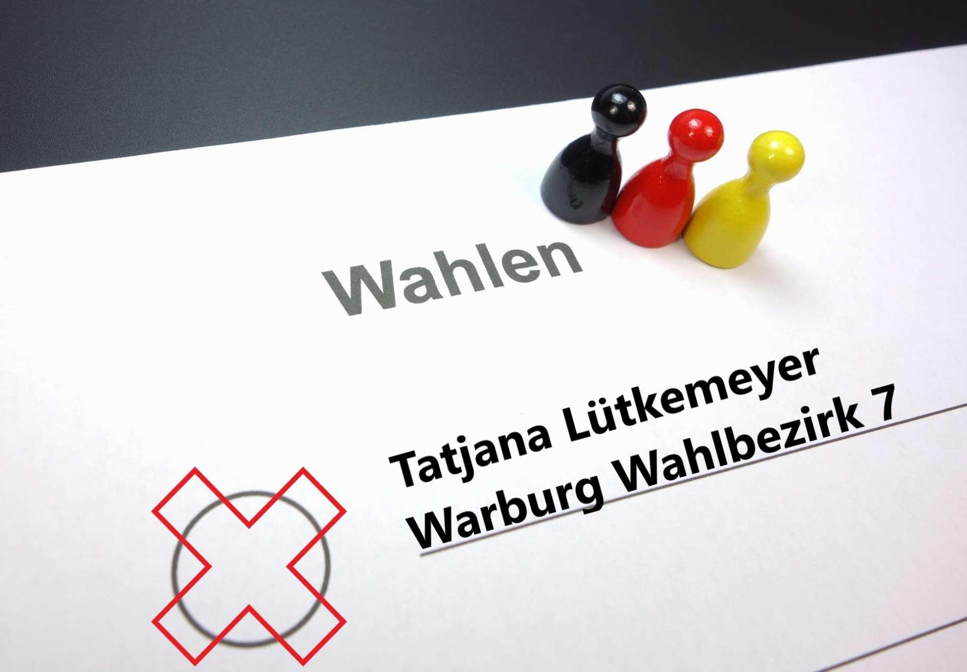 Warburg Wahlen: Tatjana Lütkemeyer Wahlbezirk 7