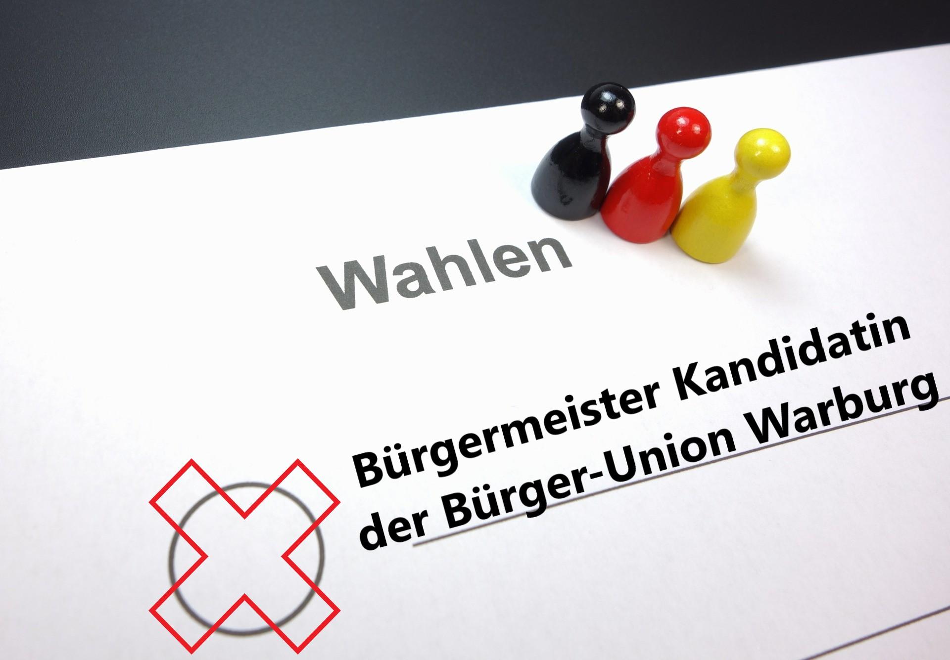 Wahl zur Bürgermeister(in) Warburg