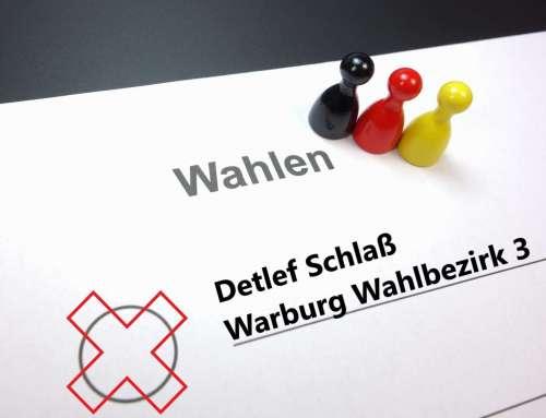 Detlef Schlaß für Warburg Wahlbezirk 3