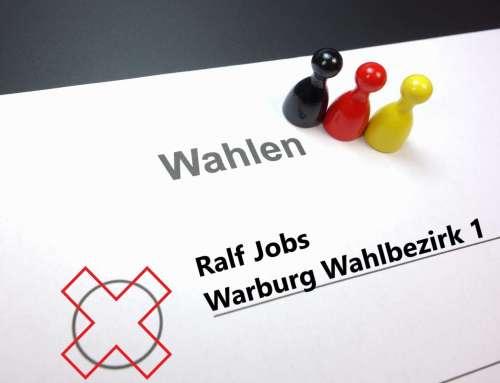 Ralf Jobs für Warburg Wahlbezirk 1
