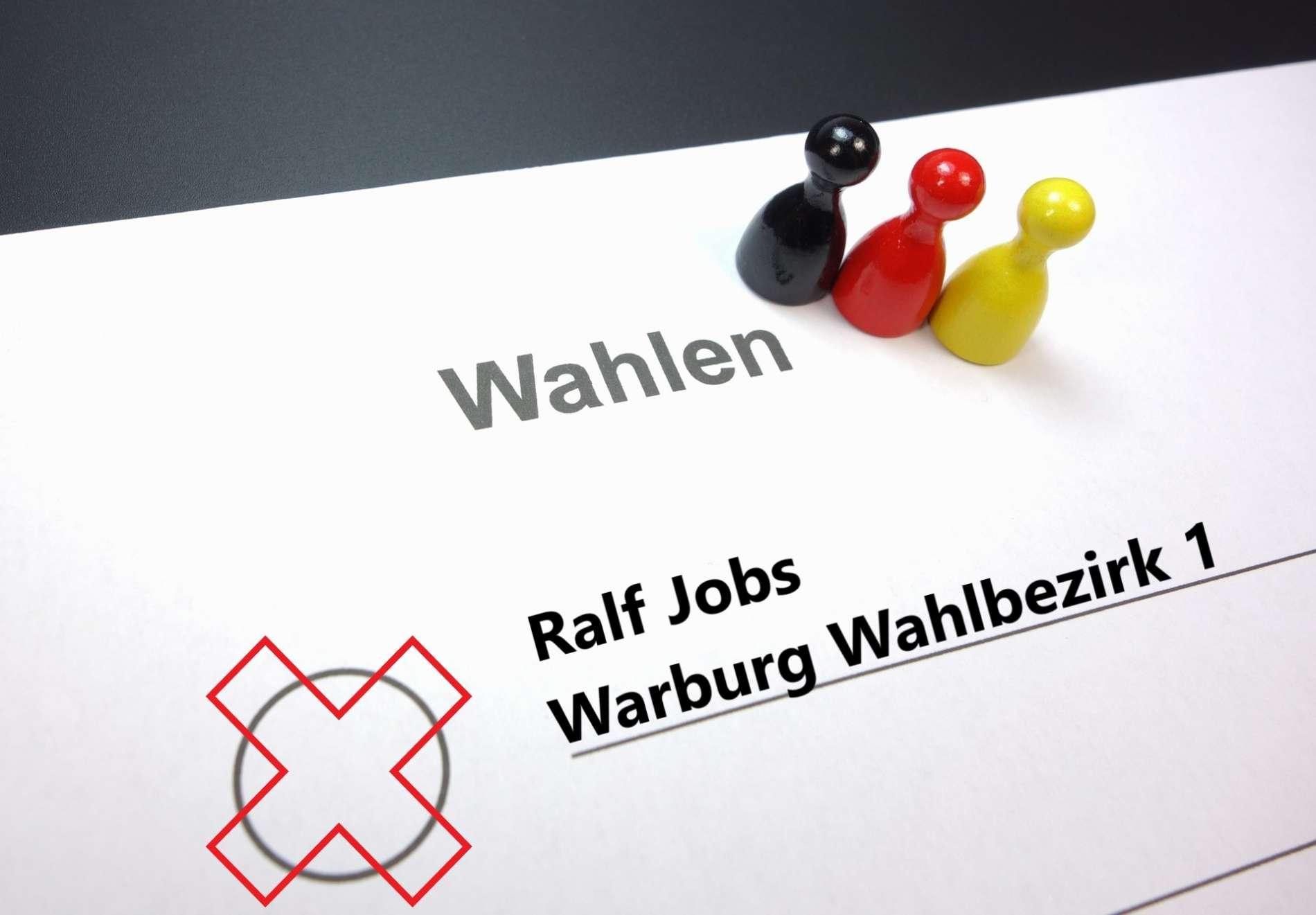 Ralf Jobs Wahlbezirk 1 Warburg Wahlen