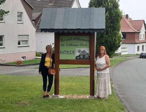 Tatjana Lütkemeyer zu Besuch in Warburg-Nörde