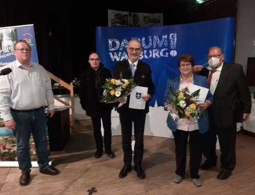 Verabschiedung der ausgeschiedenen Mitglieder des Rates der Hansestadt Warburg